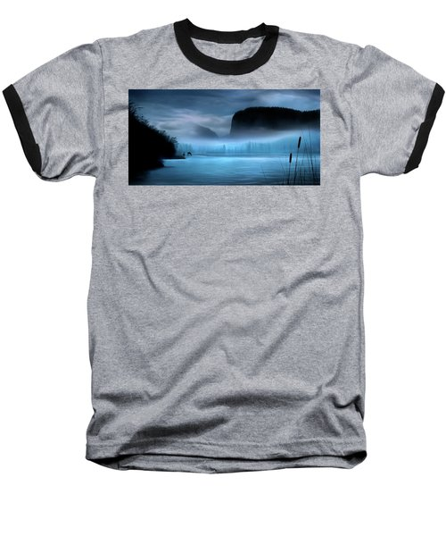 Baseball T-Shirt featuring the photograph While You Were Sleeping by John Poon