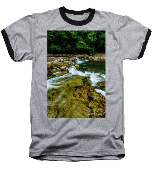 Whitaker Falls In Summer Baseball T-Shirt