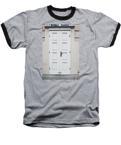 White Door Baseball T-Shirt