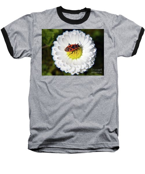 Baseball T-Shirt featuring the photograph White Flower by Elvira Ladocki