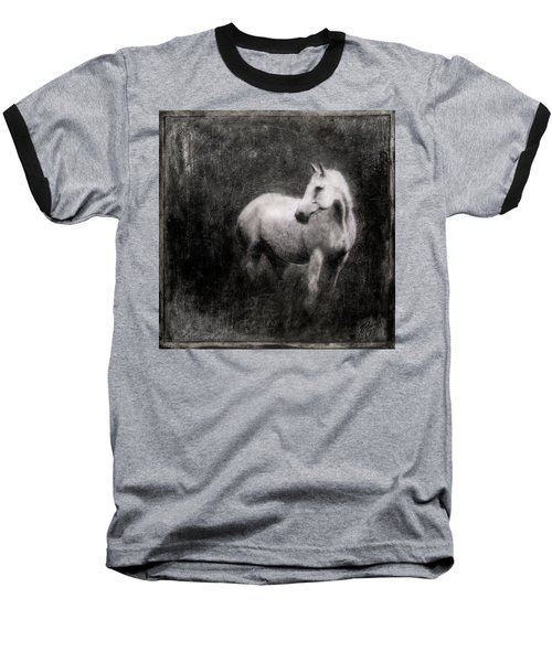 White Horse Baseball T-Shirt