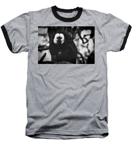 Baseball T-Shirt featuring the photograph White Saki by The 3 Cats