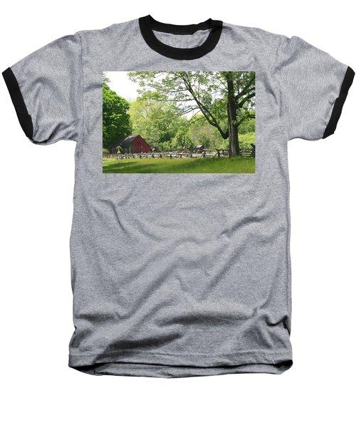 Wick Farm At Jockey Hollow Baseball T-Shirt