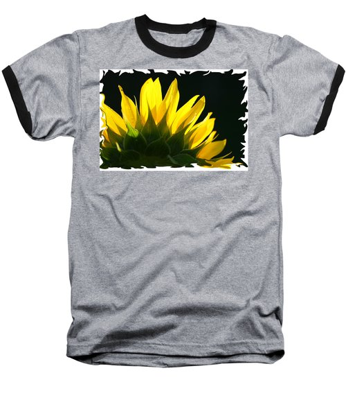 Wild Sunflower Baseball T-Shirt by Shari Jardina