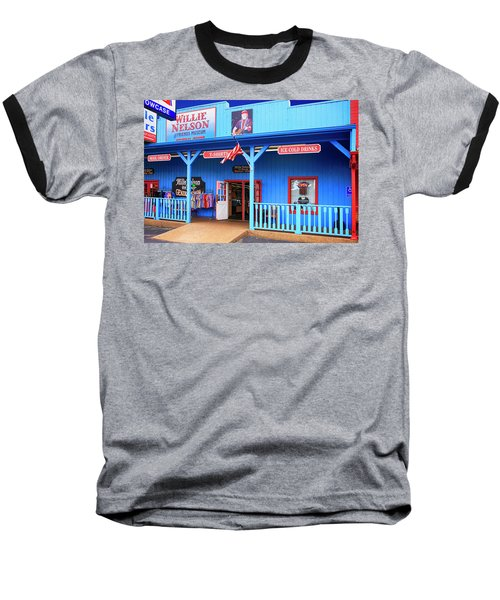 Willie Nelson And Friends Museum And Souvenir Store In Nashville, Tn, Usa Baseball T-Shirt