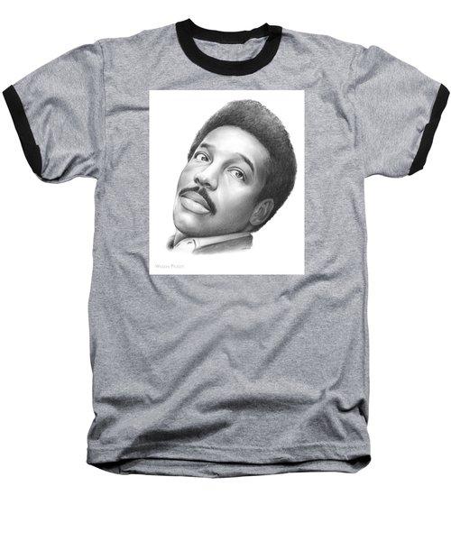 Wilson Pickett Baseball T-Shirt by Greg Joens