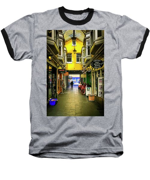 Windham Shopping Arcade Cardiff Baseball T-Shirt