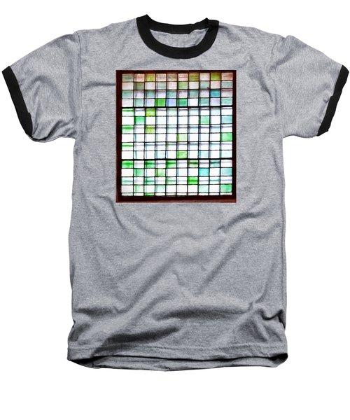 Stained Glass Window  Baseball T-Shirt