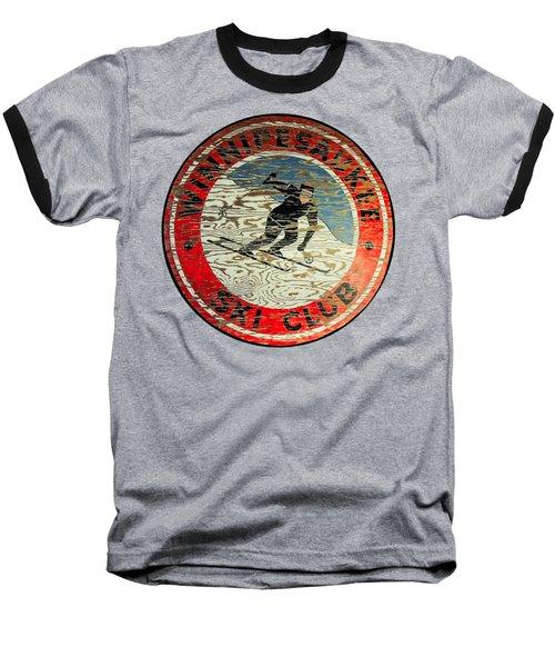 Winnipesaukee Ski Club Baseball T-Shirt