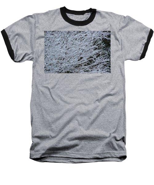 Winter At Dusk Baseball T-Shirt