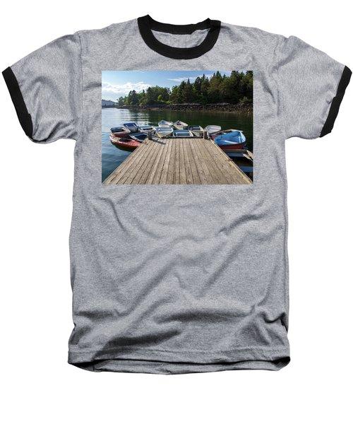 Winter Harbor Maine  Baseball T-Shirt