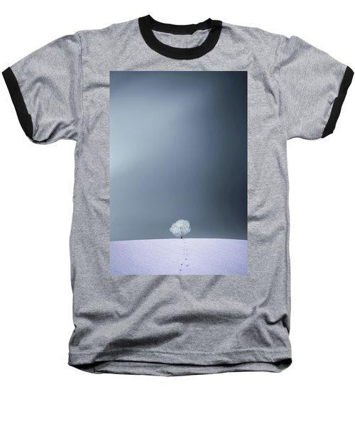 Baseball T-Shirt featuring the photograph Winter Tree by Bess Hamiti