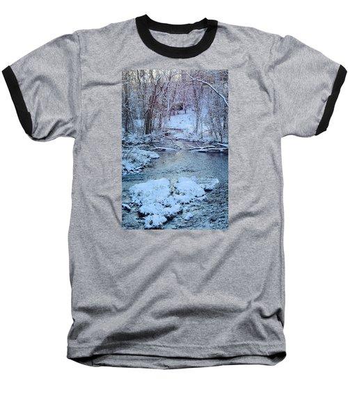 Winter Wonderland Baseball T-Shirt by Dacia Doroff