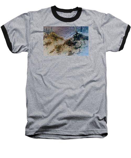 Winter's Morn Baseball T-Shirt by Carolyn Rosenberger