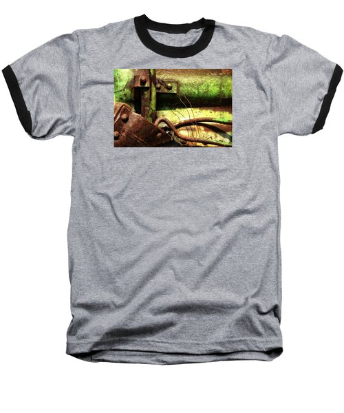 Baseball T-Shirt featuring the photograph Wired by Newel Hunter