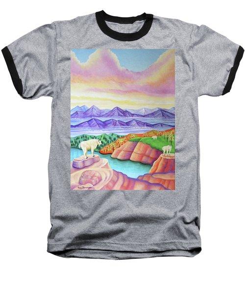 Wonderland Baseball T-Shirt by Tracy Dennison