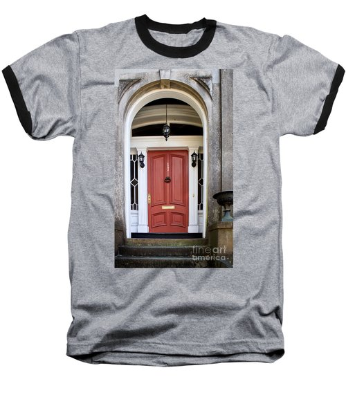 Wooden Door Savannah Baseball T-Shirt