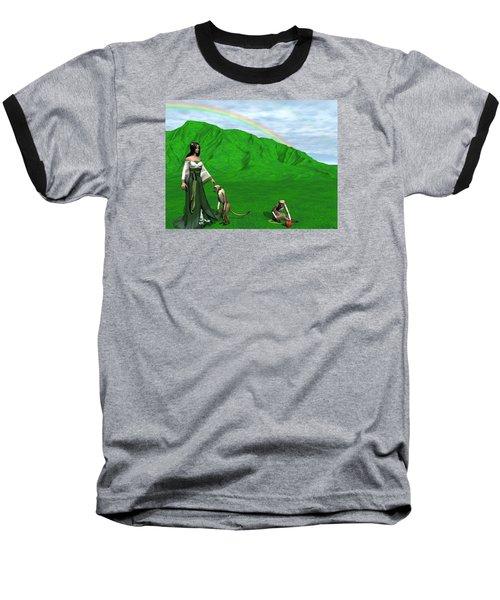 Year Of The Monkey Baseball T-Shirt by Michele Wilson