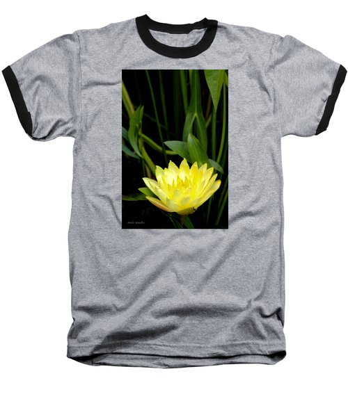 Yellow Lotus Baseball T-Shirt