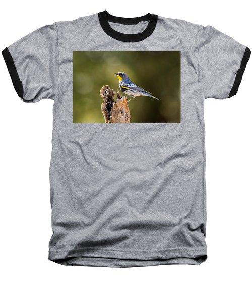 Yellow-rumped Warbler Baseball T-Shirt