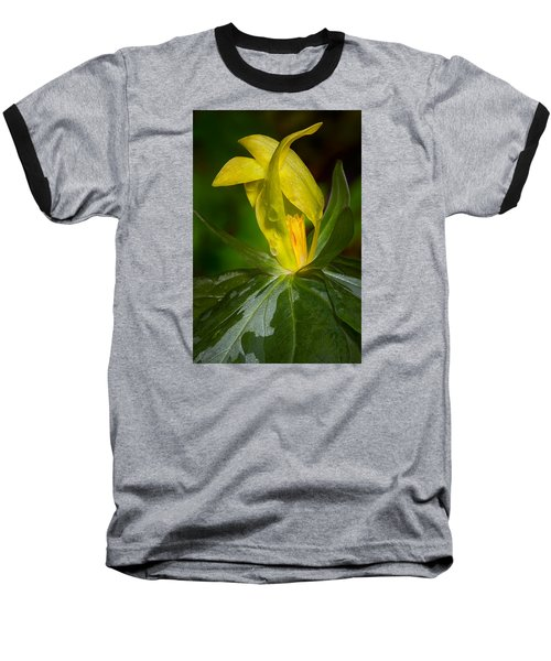 Yellow Trillium Baseball T-Shirt