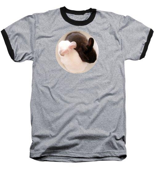 Yin Yang Bunnies T Shirt Baseball T-Shirt