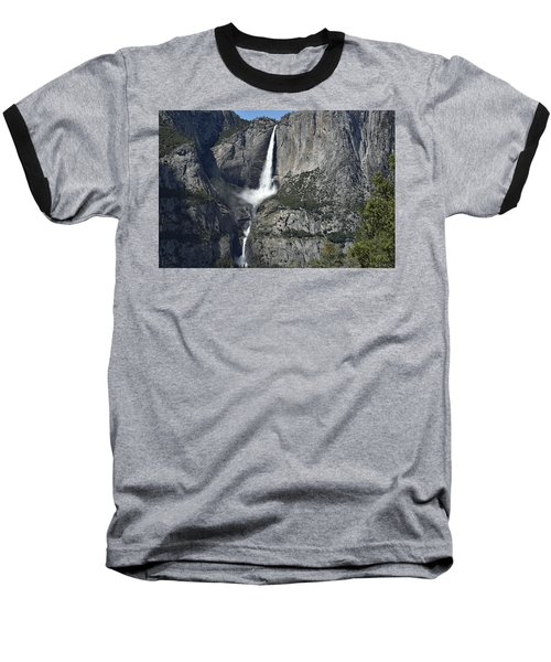Yosemite Falls From The Four Mile Trail Baseball T-Shirt