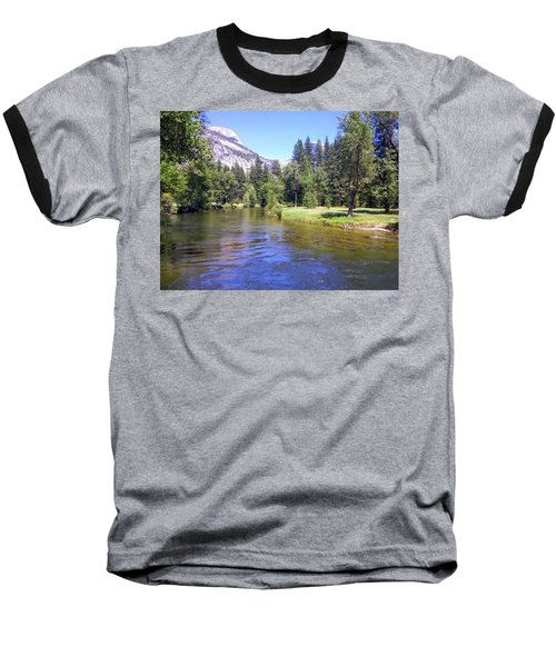 Yosemite Lazy River Baseball T-Shirt