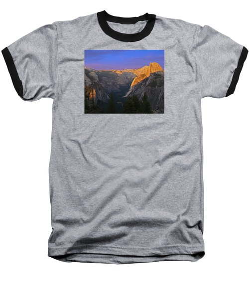 Yosemite Summer Sunset 2012 Baseball T-Shirt by Walter Fahmy