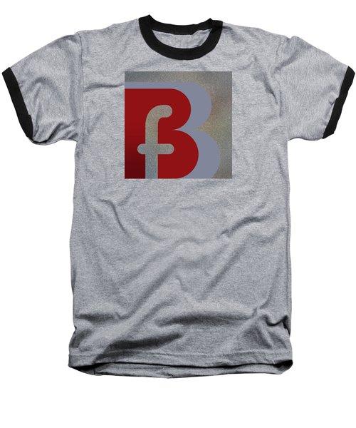 Your Name - B F Or F B Monogram Baseball T-Shirt
