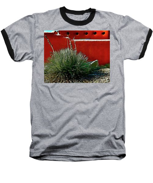 Yucca And Adobe Baseball T-Shirt