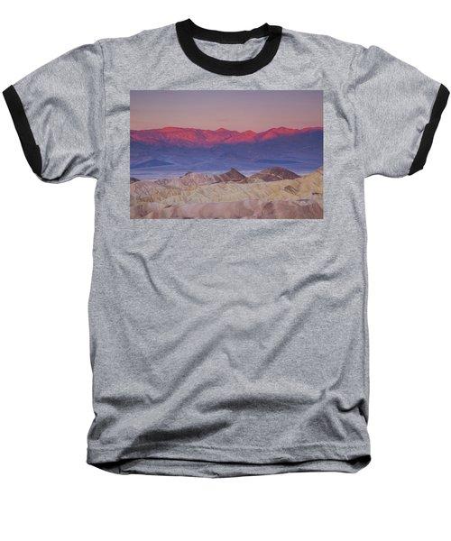 Zabriskie Sunrise Baseball T-Shirt