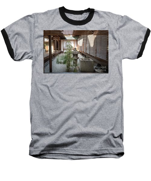 Zen Garden, Kyoto Japan Baseball T-Shirt