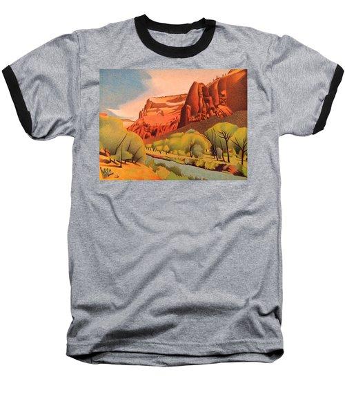 Zion Canyon Baseball T-Shirt