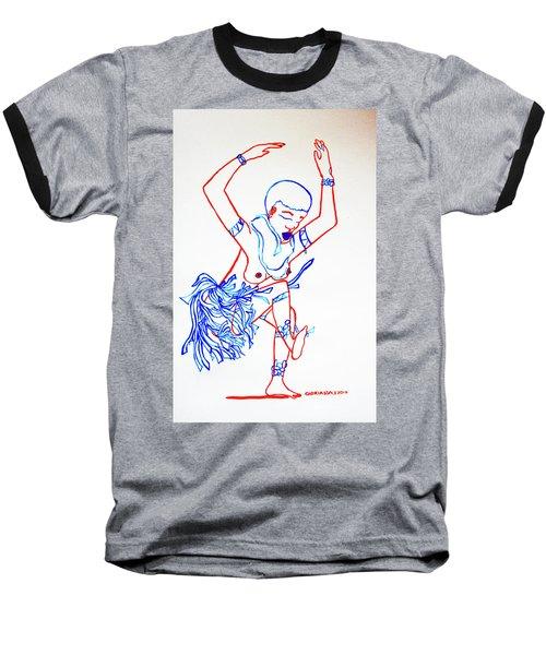 Zulu Traditional Dance South Africa Baseball T-Shirt
