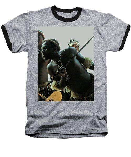 Zulu Warrior Baseball T-Shirt