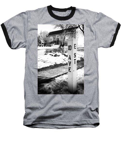 10 Ave And E St Belmar New Jersey Baseball T-Shirt
