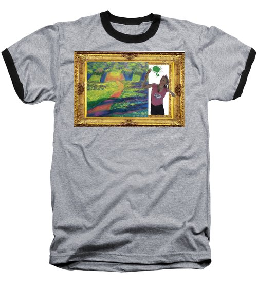 Cover Art For Gallery Baseball T-Shirt by Diana Riukas