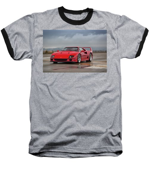 #ferrari #f40 #print Baseball T-Shirt