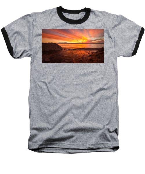 Lake Winnipesaukee Baseball T-Shirt