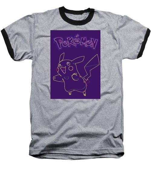 Pokemon - Pikachu Baseball T-Shirt