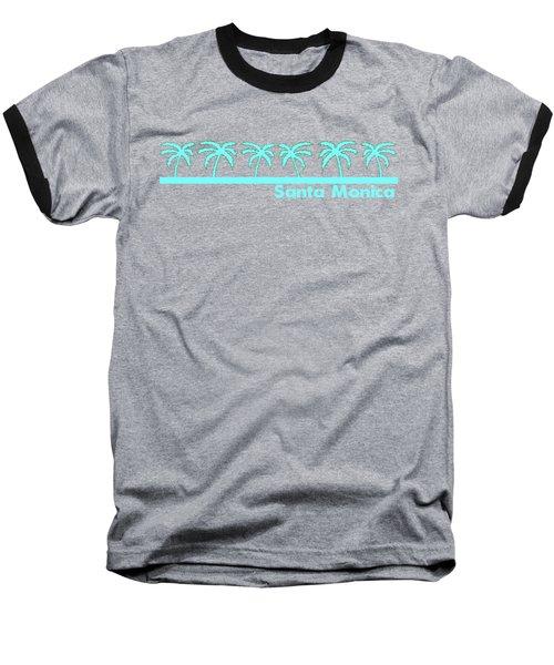 Santa Monica Baseball T-Shirt by Brian's T-shirts