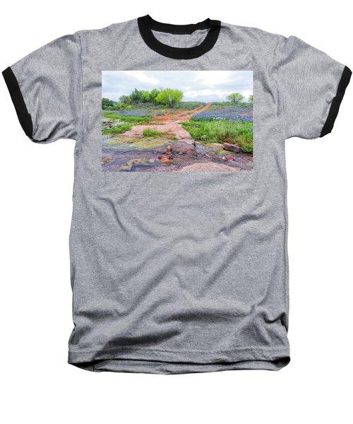 Texas Bluebonnets 9 Baseball T-Shirt