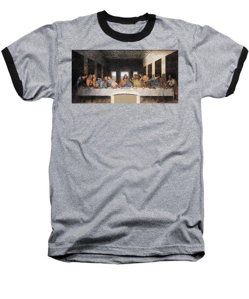 The Last Supper Baseball T-Shirt