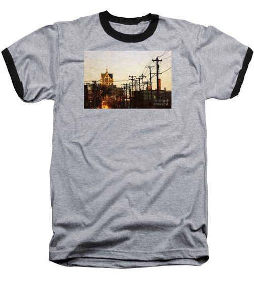 100 East Wisconsin Baseball T-Shirt by David Blank