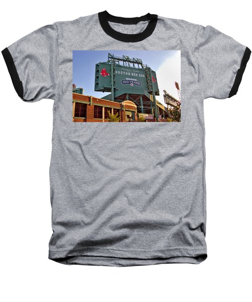 100 Years At Fenway Baseball T-Shirt by Joann Vitali