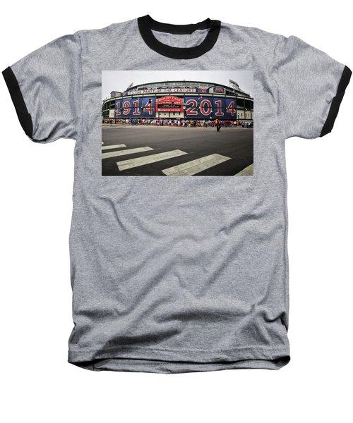 100 Years Old  Baseball T-Shirt by Robert McCubbin