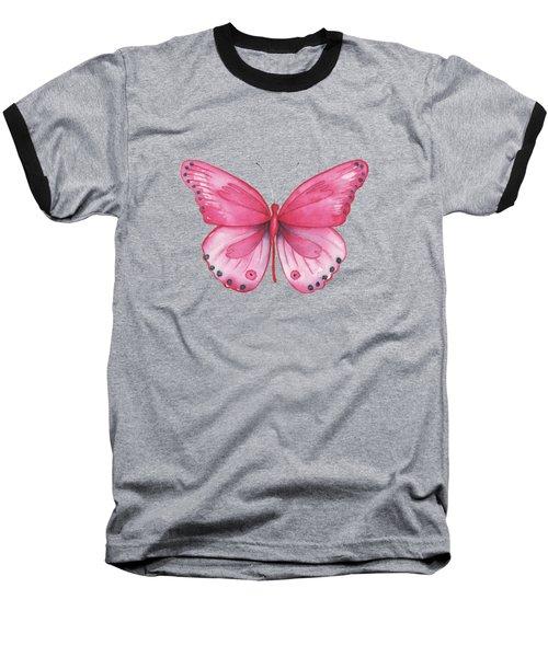 107 Pink Genus Baseball T-Shirt