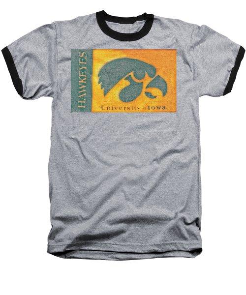 10720  Iowa Hawkeye Baseball T-Shirt