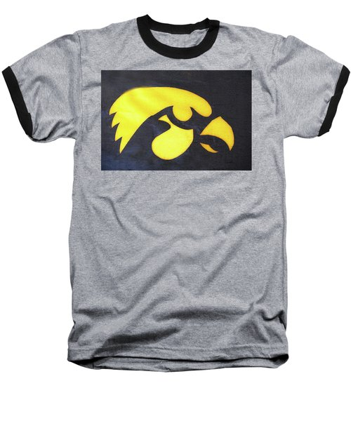 10724  Iowa Hawkeye Baseball T-Shirt